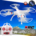Brand Professional SYMA X8C 2.4G 4CH 6 Axis with 2MP HD Camera Wide Angle RC Drone RTF RC Helicopter kvadrokopter