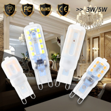 G9 Led Bulb 3W 5W Mini 220V Lamp Ampoule 2835 SMD Corn Light AC 200-240V Lampada Living Room Decorative Lighting