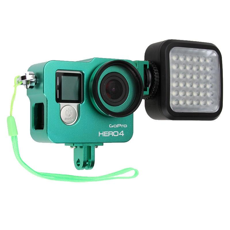 Hot Go pro Hero 4 3+ Akcesorium do aparatu, aluminiowa metalowa - Aparat i zdjęcie - Zdjęcie 3
