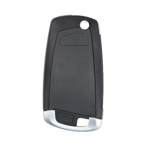 Image 4 - KEYECU EWS Modified Flip Remote Key 4 Button 315MHz/433MHz PCF7935AA ID44 Chip for BMW E38 E39 E46 M5 X3 X5 Z3 Z4 HU58 / HU92