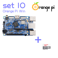 Orange Pi Win SET10: Pi Win and 16GB Class 10 Micro SD Card Supported Android, Ubuntu, Debian Above Raspberry