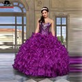 Ready-to-shop Puls Size Quinceanera Dresses Crystals Ball Gown Vestidos De 15 Anos Cheap Quinceanera Gowns Sweet 16 Dresses