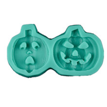 3D Silicone Small Pumpkin Fondant Mold DIY Chocolate Cake Decorating Tools Christmas Gift Mould Baking Tools 3d christmas pine cones tree silicone candle soap fondant mold cake chocolate decorating baking mould tool