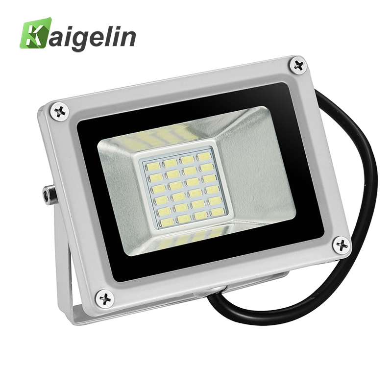 10PCS 20W LED Flood Light 12V-24V 2200LM Reflector Floodlight 24 LED SMD 5730 Ip65 Waterproof LED Spotlight For Outdoor Lighting 2017 ultrathin led flood light 70w cool white ac110 220v waterproof ip65 floodlight spotlight outdoor lighting free shipping