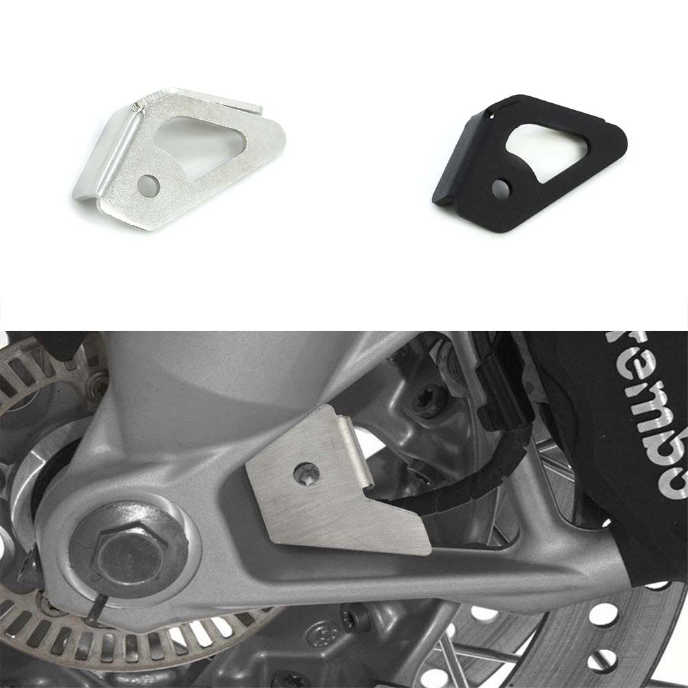 Front ABS sensor protection guard for <font><b>BMW</b></font> <font><b>R1200GS</b></font> 2006 2007 <font><b>2008</b></font> 2009 2010 2011 2012 R1200 GS image