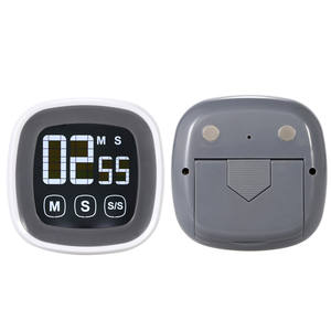 Digital LCD touch screen kitchen timer, kitchen cooking gadget electronic timer free shipping