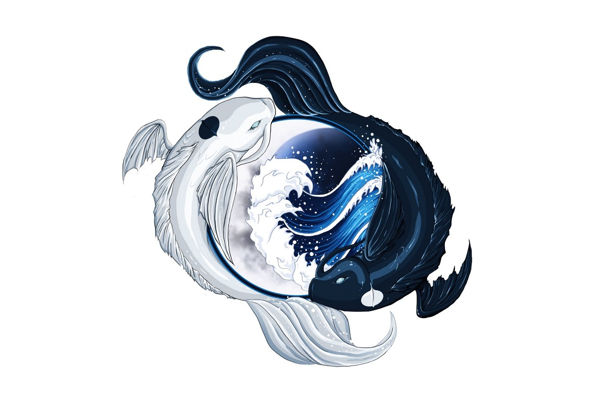 Compare prices on yin yang posters online shopping buy for Decoration murale yin yang