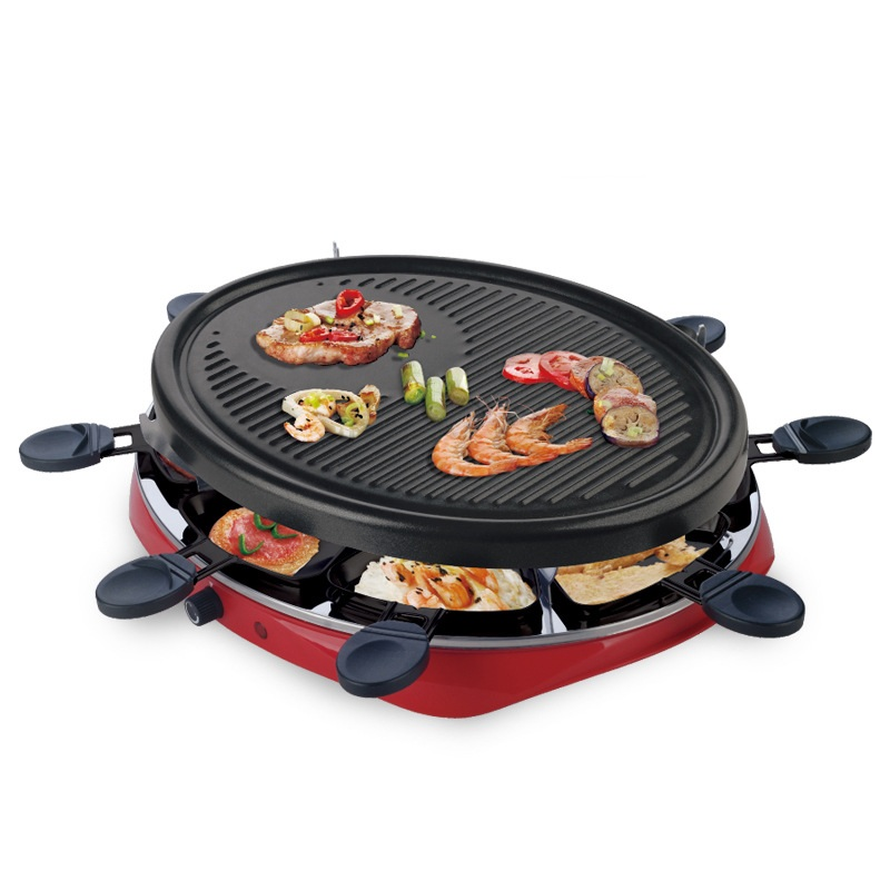 DMWD 1300W Smokeless Home Electric Barbecue Maker 220V Kebab Meat Roaster With Small Baking Pans For Family Party 3-5 People 1pc hot sale 100%quality guaranteed doner kebab slicer two blades electrical kebab knife kebab shawarma gyros cutter