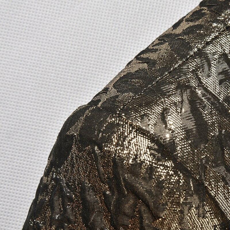 Μαύρο Lapel χρυσό Tuxedo κοστούμι κοστούμι - Ανδρικός ρουχισμός - Φωτογραφία 5