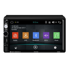 7Inch Car Stereo MP5 Android 8.1 GPS Navigator FM Radio WiFi BT 1GB 16GB Bluetooth Touch Screen 4.0 Multimedia Players  #YL1