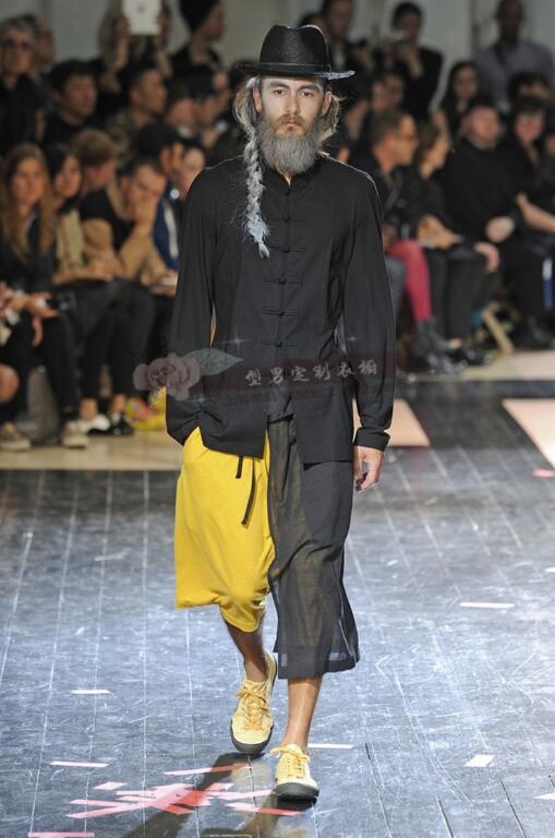Los Pantalones Europea La Verano Casuales Americana capa Doble Salvaje Puntos Siete Marea De Cortos Hombres Tamaño Gran Nuevo 9654 Moda tSdAnP4qwt