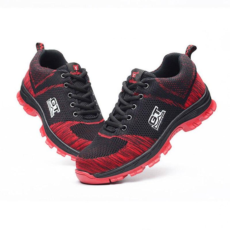 35 Tamaño De Hombre Punta 46 Seguridad Zapatos Comprar Acero Gran pOgxwq11
