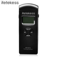 Retekess T14 серый ЖК дисплей Беспроводной голосования устройства для Беспроводной голосования Конференции Системы с Батарея F9440A