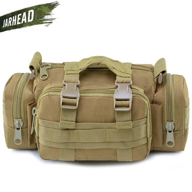 Men Ranger Shoulder Bag Travel Chest Bag Military Tactical Water Resistant Bag