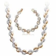 AAAAA+ стразы пшеницы Модные Ювелирные наборы брелоки для браслетов и ожерелий женские подарки аксессуары Прямая поставка качество золотой