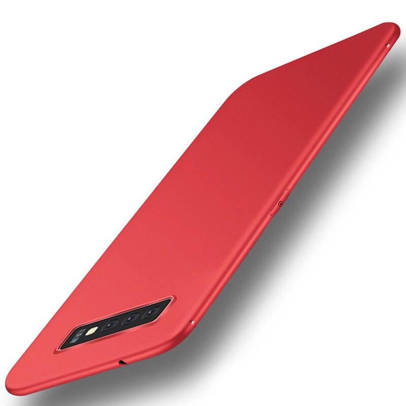 Keajor case for Samsung Galaxy S10 Case Ultra Thin Soft Matte Silicon TPU Bumper Cover For Samsung Galaxy S10 Plus S10e Case
