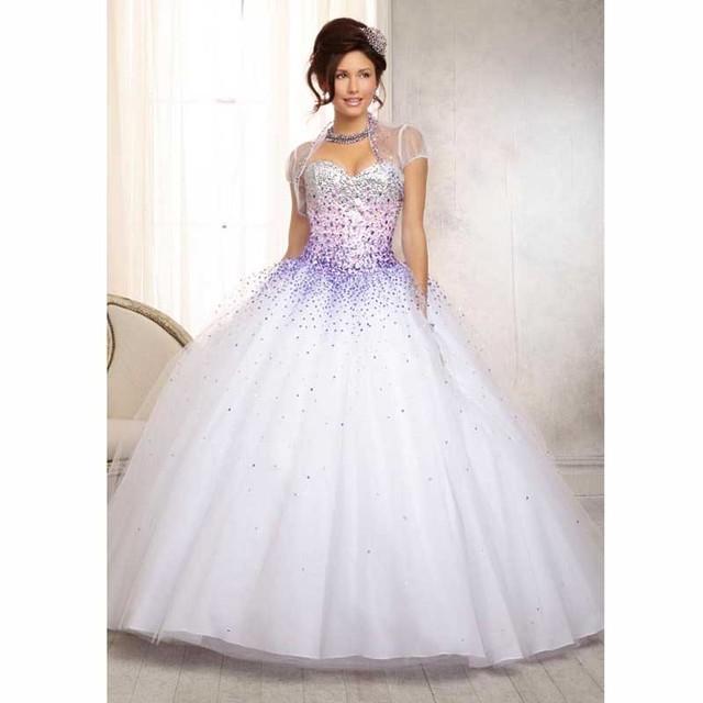 2016 el último diseño De mirada fresca Tulle Quinceanera del vestido De los Vestidos del dulce 15 Vestidos Vestidos De 15 años Debutante Vestidos