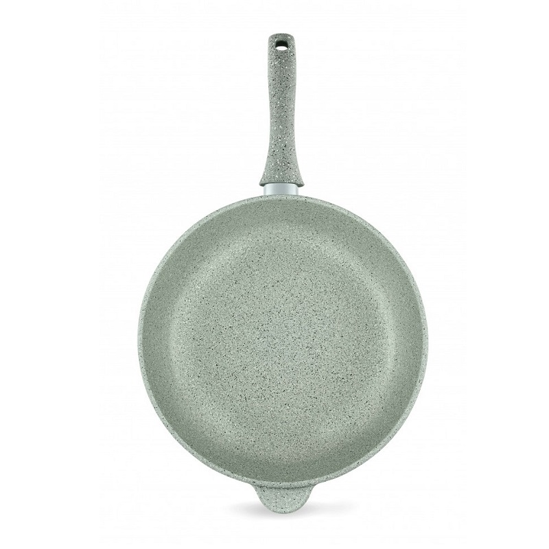Сковорода Нева металл посуда, Природные минералы, Карелия, 28 см