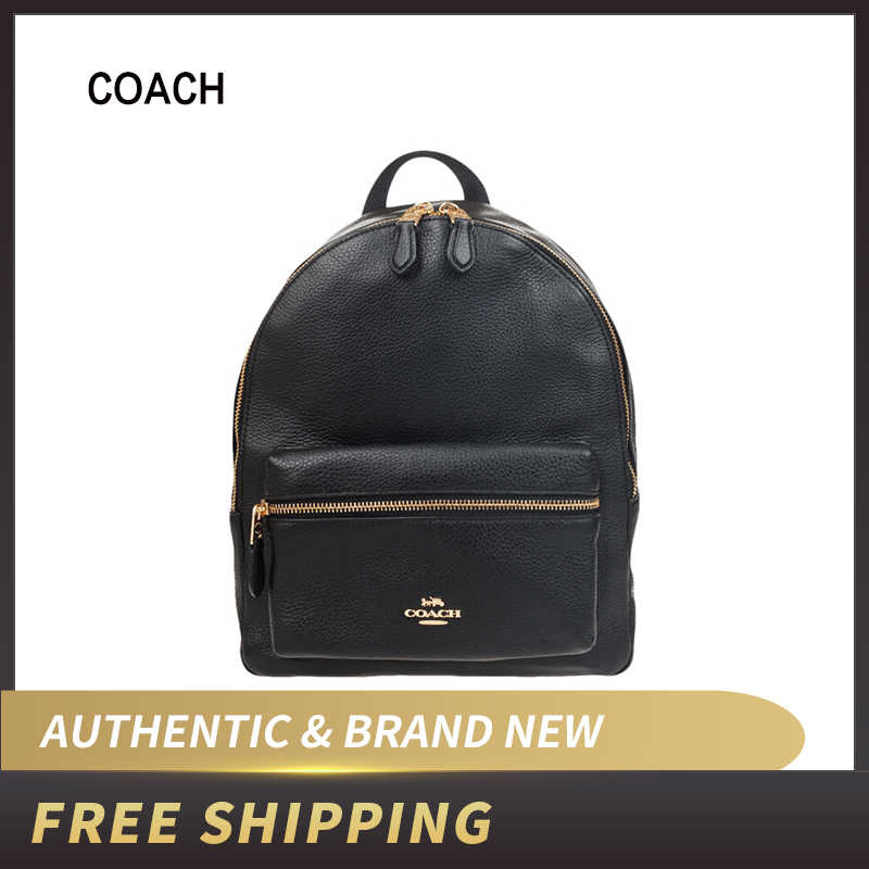 Coach Medium Charlie Backpack in Pebble Leather F30550/F39196/F66935/F66853