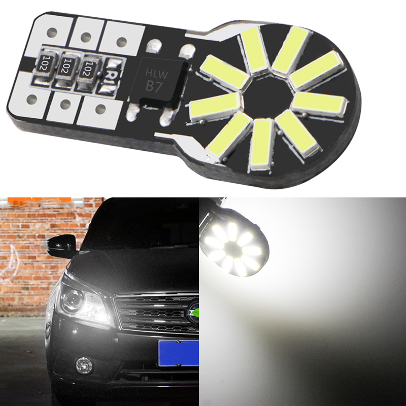 2x Canbus T10 194 168 W5W 5630 8 LED SMD White Car Side Wedge Light Lamp Buld AO