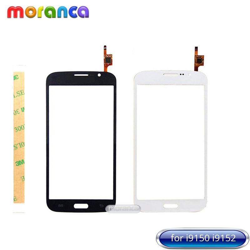 for Samsung Galaxy Mega 5.8 i9150 GT-i9150 GT-i9152 i9152 Touch Screen Digitizer Glass Sensor Lens Panel White Black + 3M Tape