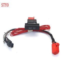 Stylo ciśnienia w oponach samochodu ostrzeżenie TPMS ustaw przełącznik z kablem do Octavia 2010-2014 1ZD 927 127