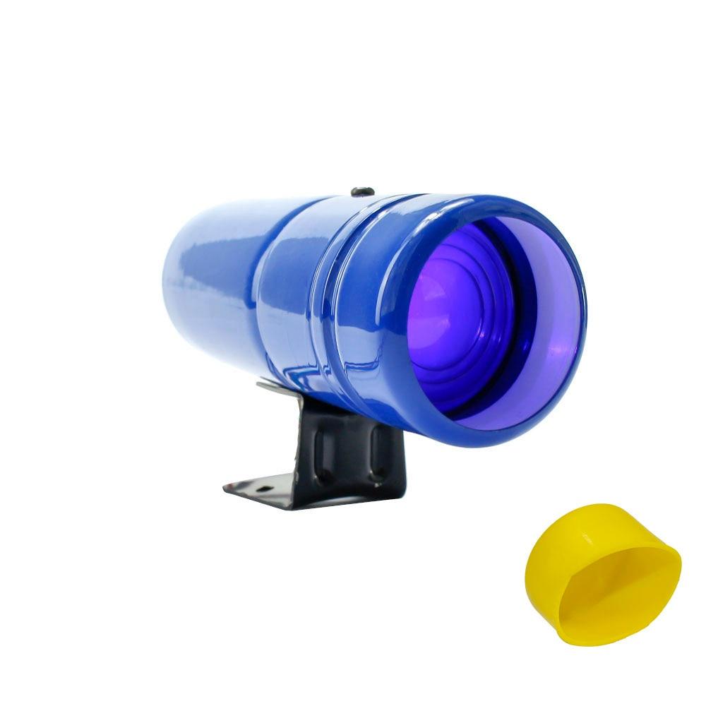 Авто 1000-11000RPM Тахометр переключения светильник Красная Лампа Регулируемый Автомобильный Тахометр метр Предупреждение с желтым датчик YC100137 - Цвет: Blue and Blue Light