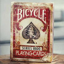 Bicycle Vintage Series 1800 Ellusionist Marked Deck Blue/Red Magic Cards Poker Playing Cards NEW Sealed Close Up Magic Tricks