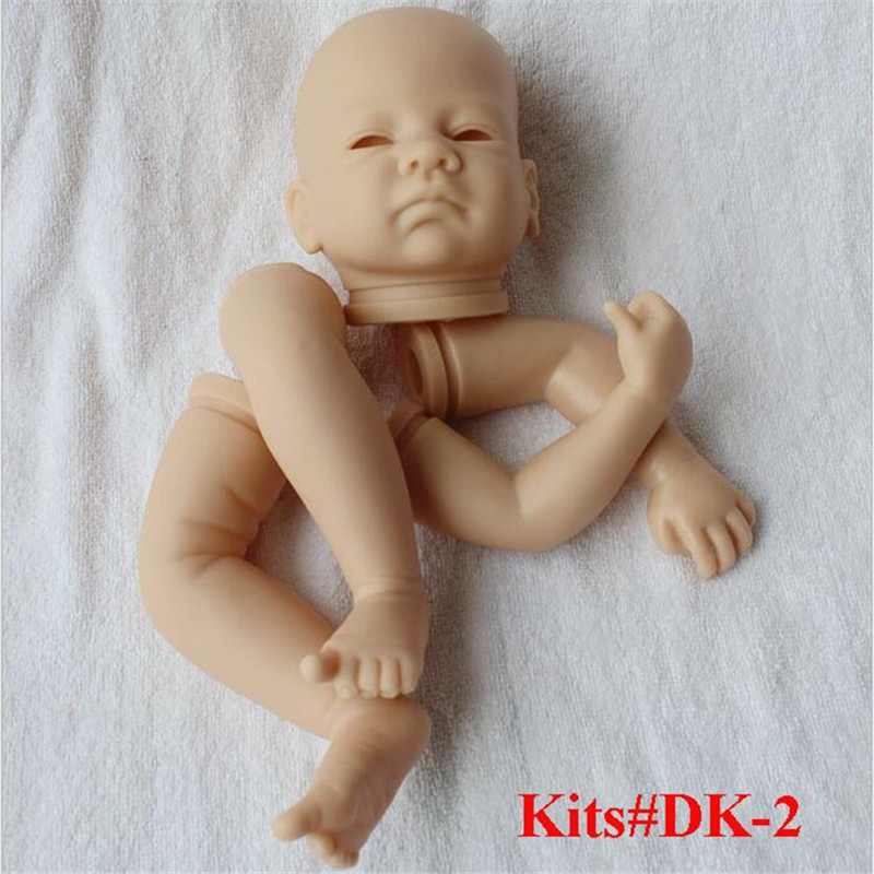 Reborn Doll Kits for 18inches Soft Vinyl Reborn Baby Dolls Accessories for DIY Realistic Toys for DIY Reborn Dolls Kits#dk-2 good price reborn baby doll kits for 17 baby doll made by soft vinyl real touch 3 4 limbs unpainted blank doll diy reborn doll
