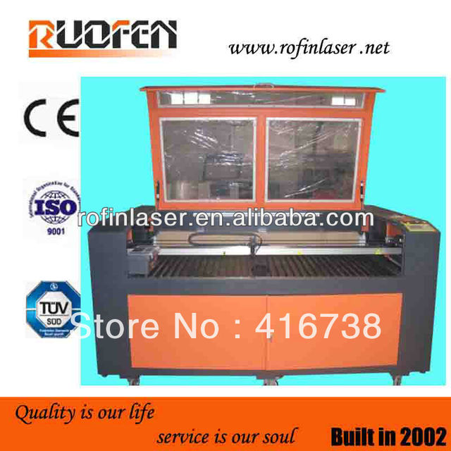 Hot sale name plate laser engraving machine
