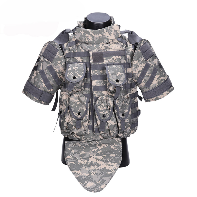 цена на OTV Tactical Vest Camouflage combat Body Armor With Pouch/Pad ACU USMC Airsoft Military Molle Assault Plate Carrier CS Clothing