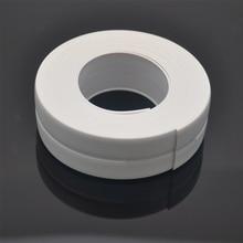 1 рулон ПВХ уплотнительная лента для стены ванной водостойкая самоклеющаяся лента для кухонной раковины край уплотнительная лента четыре цвета на выбор 3,2 м