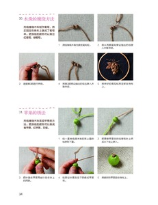 Image 3 - A three dimensional embroidery of flowers, trees, and fruits / Chinese embroidery Handmade Art Design Book
