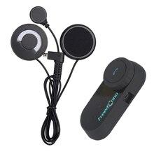 Weiche Kopfhörer + FM! 1 stücke HiFi 1000 Mt Motorrad Kopfhörer Drahtlose Bluetooth Intercom Sprech Helm Headset für Handy & GPS