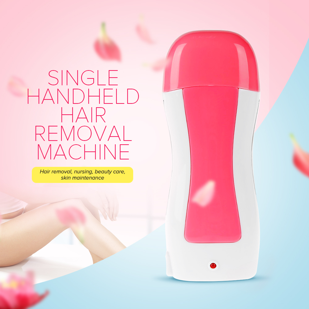 Professional Women Epilator Electric Single Handheld Depilatory Wax Hair Removal Machine for ladyFemale EU/US plug For Female