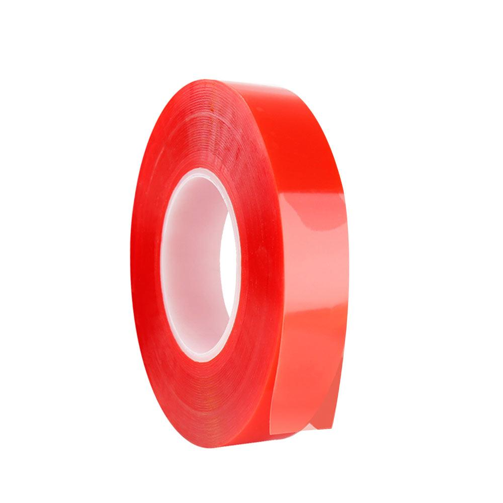 Double Sided Tape Acrylic Adhesive Tape Repair DIY Transparent Color 10m Corrosion Resistance VHB Tape Waterproof