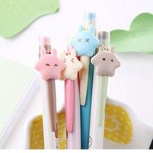 50 قطعة kawaii قلم رصاص ميكانيكي مجموعة لطيف ستار أقلام رصاص الميكانيكية الاطفال مدرسة مكتب الكتابة لوازم حلوى لون قلم رصاص الكورية