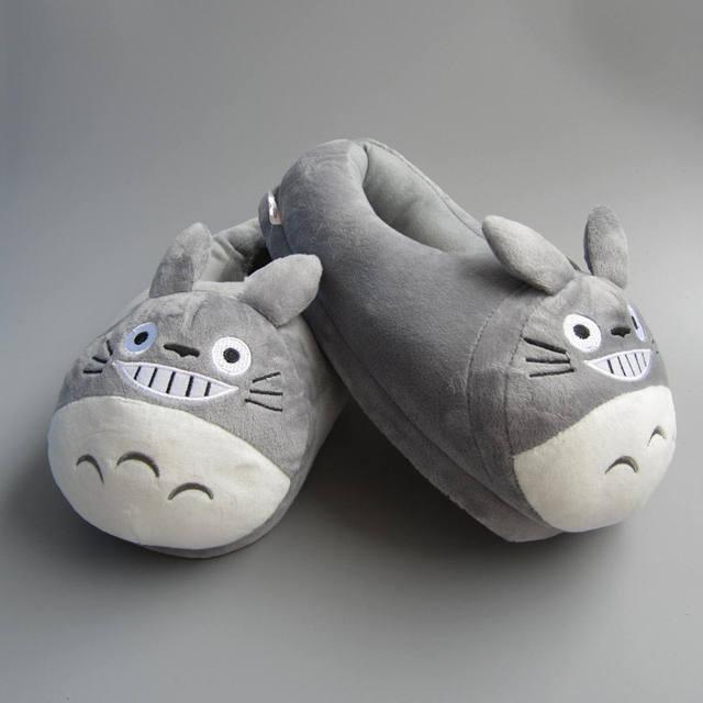 Totoro Plush Indoor Slipper