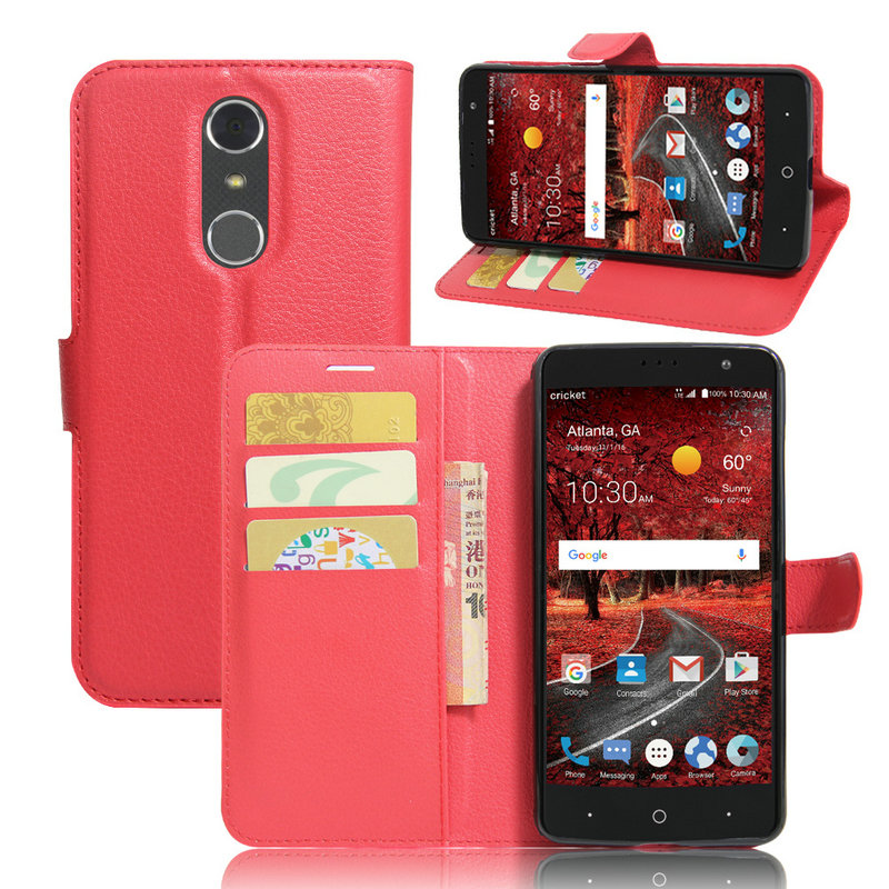 the latest 32b5c 1d076 US $3.37 30% OFF|for ZTE Grand X4 Luxury Wallet Flip Leather Case for ZTE  Grand X4 X 4 /Z956 phone back Cover Housing cases fundas+Card+Stand>-in  Flip ...