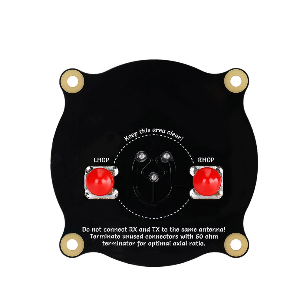 5.8GHz Triple Feed Patch Antenna SMA Directional Circularly Polarized Antenna @ZJF