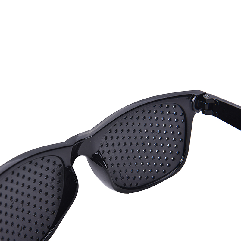 7d12f6de34 High Quality New Arrival Black Unisex Vision Care Pin hole Eye Exercise Eyeglasses  Pinhole Glasses Eyesight Improve plastic Hot-in Reading Glasses from ...