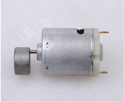 365 DC 12-24V 29700RPM Kecepatan Tinggi Magnetik Micro Vibration Motor