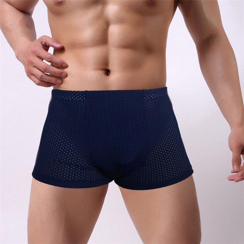 Best Price Men Underwear Boxers Shorts Men Boxers Solid Male Soft Underpants Underwear Masculina Cueca Boxers Men