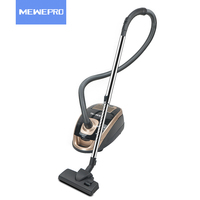 MEWEPRO Powerful 2400w HEPA Filter Household Golden Strong Suction Vacuum Cleaner Aspiradora For Home Stofzuiger VC