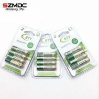 12 Pcs X Best Rechargeable Battery AAA1350 4 X BTY NI MH 1 2V Rechargeable Aa