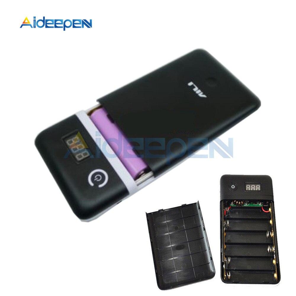 18650 Battery Charger Mobile Power Bank Charging Module 3.3A 5V-21V for 19V Laptop 5V Phone Black