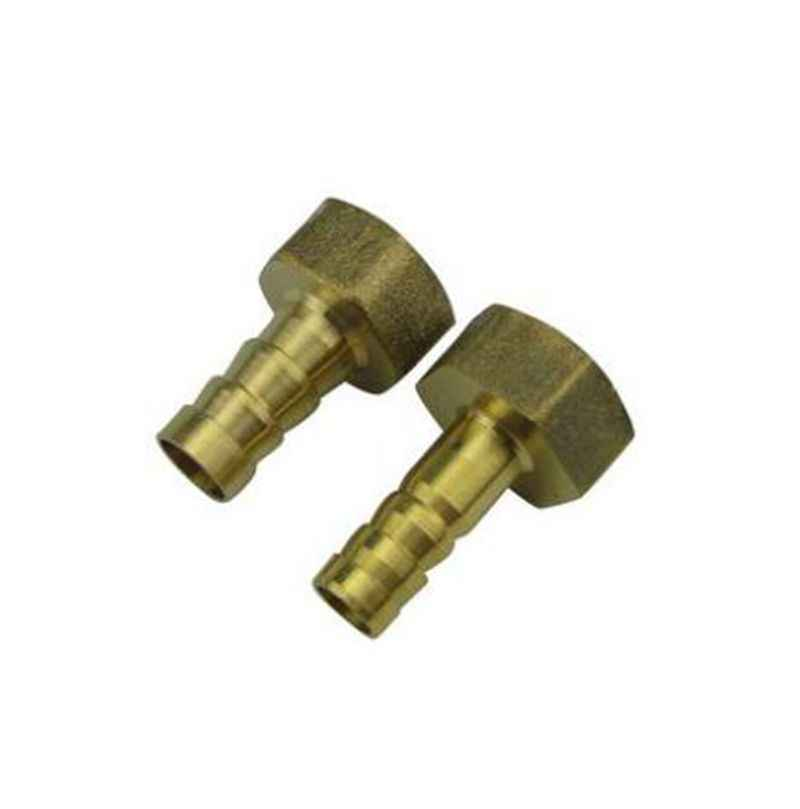 8mm to 1/8'' BSP Female Thread Copper Pagoda Joint Adapter PCF8-01 Brass Pipe Connector Quick Plug for Gas Air Tube