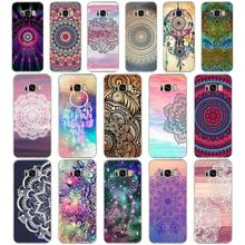 42G gold mandala Soft TPU Silicone Cover Case for s