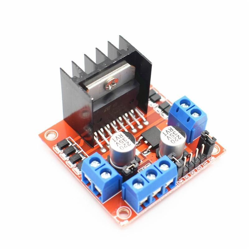 New Dual H Bridge DC Stepper Motor Drive Controller Board Module L298N For Arduino