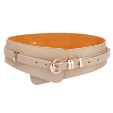Brands Genuine Leather Cowskin Belts for Women Alloy Buckle Leather Buckle women s waist belt girdle